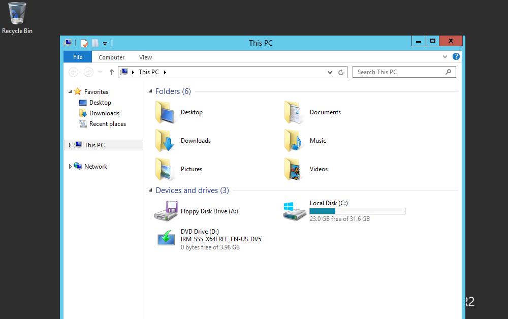 Enable Offline File On Windows Server 2012