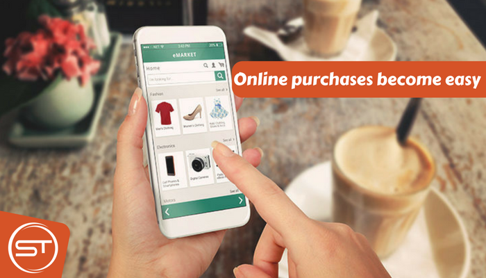 Online purchases become easy