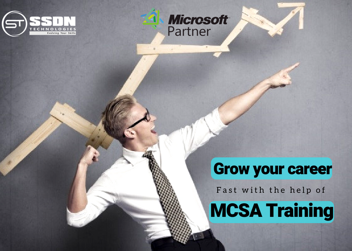 Grow your career fast with the help of MCSA Training